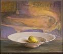 Dish with fruit and Bonnard